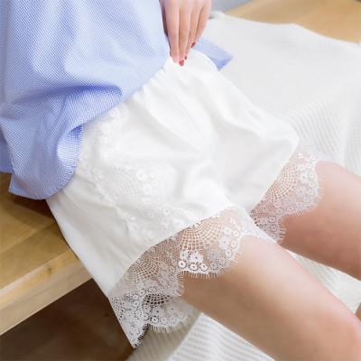 Redberry 睫毛花邊短褲 蕾絲性感花邊設計 輕盈透氣舒適感 綢緞材質 2色系