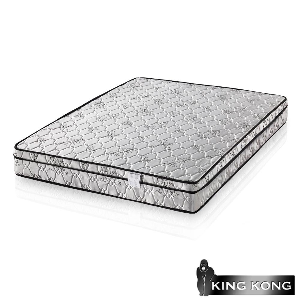 金鋼床墊 三線高級緹花布加強護背型3.0硬式彈簧床墊-單人加大3.5尺