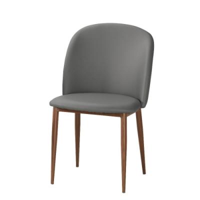 MUNA 愛達餐椅(皮)(五金腳)(4入) 48X60X82cm