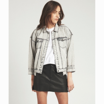 OneTeaspoon 牛仔夾克 GREY SPIRIT JACKET-女(灰)