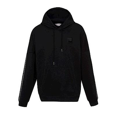 FILA #東京企劃-原宿篇 連帽T恤-黑 1TES-5434-BK