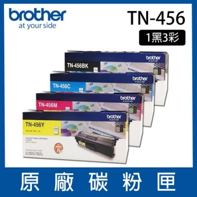 【四色一組】Brother TN-456 原廠BK/C/M/Y一黑三彩碳粉匣