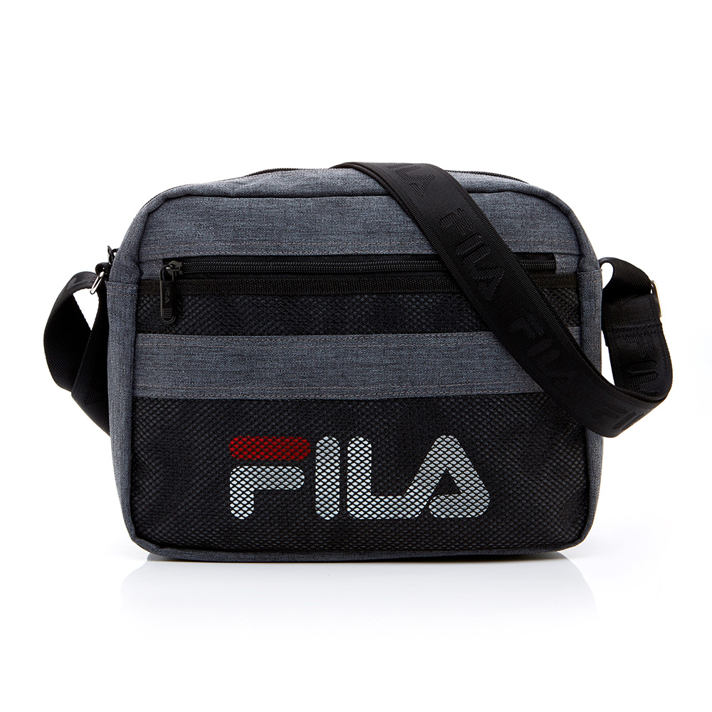 FILA 小型斜肩包-灰色 BMT-1202-GY