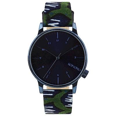 KOMONO Winston 聯名腕錶-靛青x非洲印花/41mm