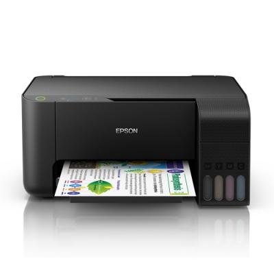 (加購超值組)EPSON L3110 高速三合一連續供墨印表機+1組墨匣(1黑3彩)