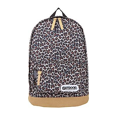 皮底後背包-豹紋 OD65733BB