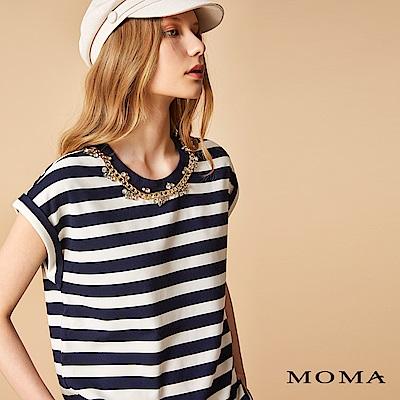 MOMA 航海風金屬鑽飾上衣