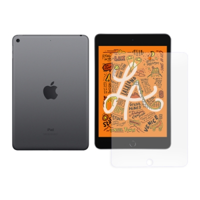 LUCCIDA Apple iPad mini 2019(7.9吋) 9H防爆玻璃貼
