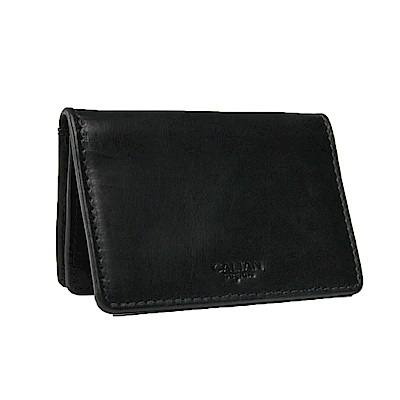 CALTAN-名片夾 卡片夾 卡夾 信用卡夾 男夾 女夾 -2125ht-bk