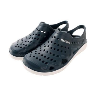 魔法Baby男鞋 台灣製輕量休閒晴雨洞洞鞋sd7222
