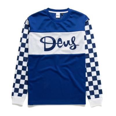 Deus Ex Machina Catch Hell Moto Jersey長袖T恤 - 藍