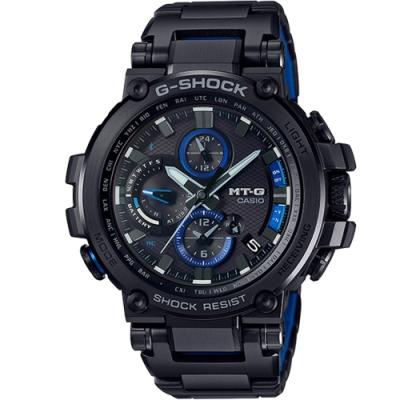G-SHOCK MT-G 變形金鋼藍芽多功能六局電波錶(MTG-B1000BD-1A)