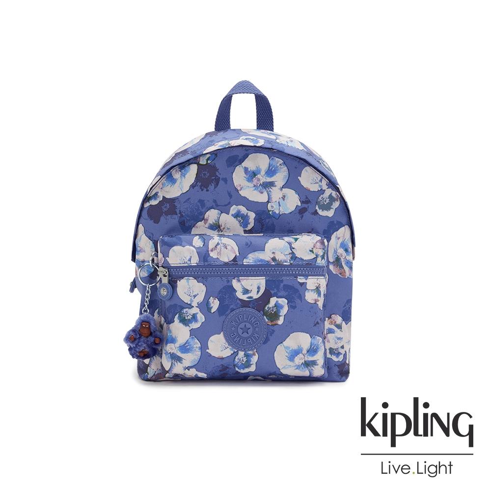 Kipling 氣質渲染印花造型簡約後背包-REPOSA