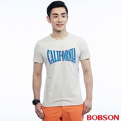 BOBSON 男款五彩顆粒布上衣