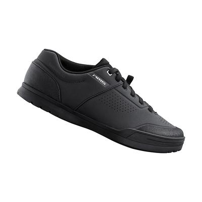 【SHIMANO】AM503 男款多功能登山車鞋 加大旅行鞋楦 黑色