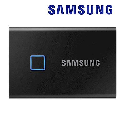 SAMSUNG 三星T7 Touch 500G USB 3.2 Gen 2移動固態硬碟 經典黑 (MU-PC500K/WW)