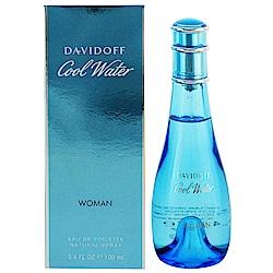 Davidoff Cool Water 冷泉 女性淡香水100ml