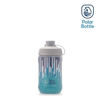 Polar Bottle 12oz MUCK 雙層保冷噴射水壺 ZIPPER 水藍