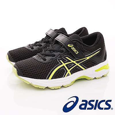 asics競速童鞋 高緩衝機能運動款 SE41N-9007黑(中小童段)
