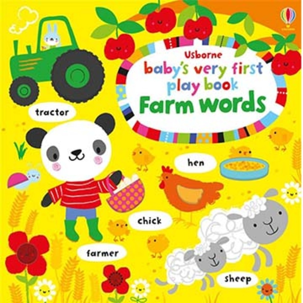 Baby's Very First Play Book Farm Words 單字書:農場篇