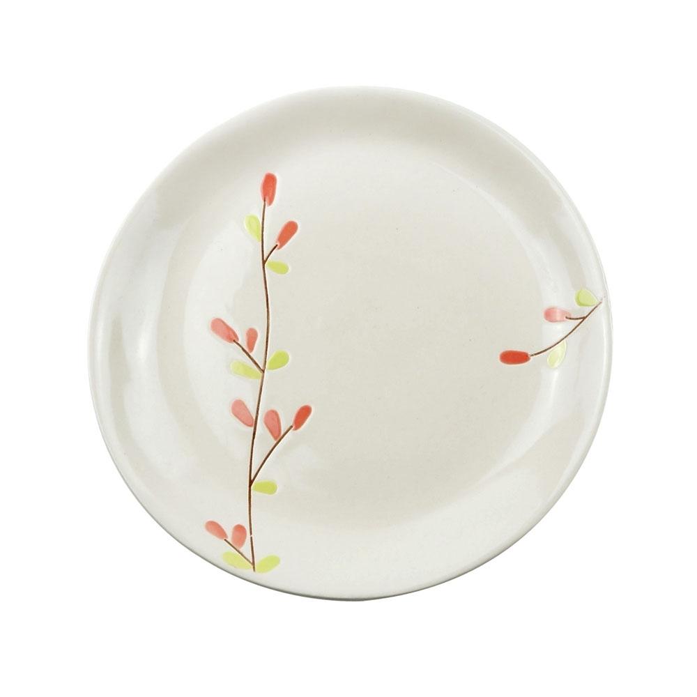 Caldo卡朵生活 和風萌芽手繪7吋沙拉盤