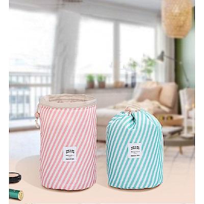 [aiken]2入組 花色圓筒化妝品收納包