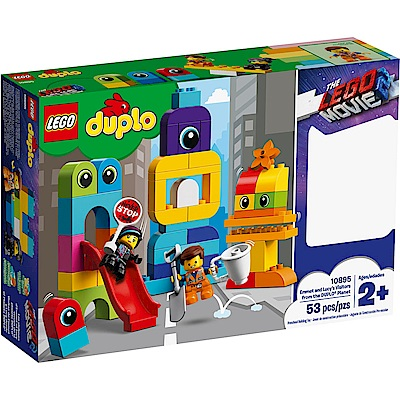 樂高LEGO Duplo 幼兒系列 - LT10895 Emmet and Lucys V
