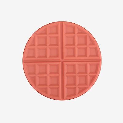 Dailylike 馬卡龍鬆餅矽膠隔熱墊-04草莓