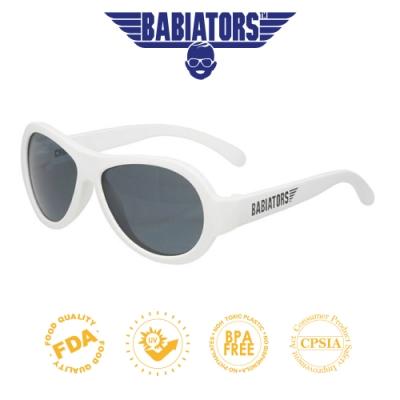【美國Babiators】飛行員系列嬰幼兒太陽眼鏡-酷炫白翼 0-5歲