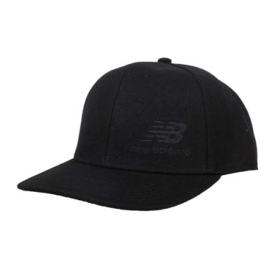 NEWBALANCE 棒球帽-鴨舌帽 遮陽 防曬 帽子 NB MH934317BK 黑