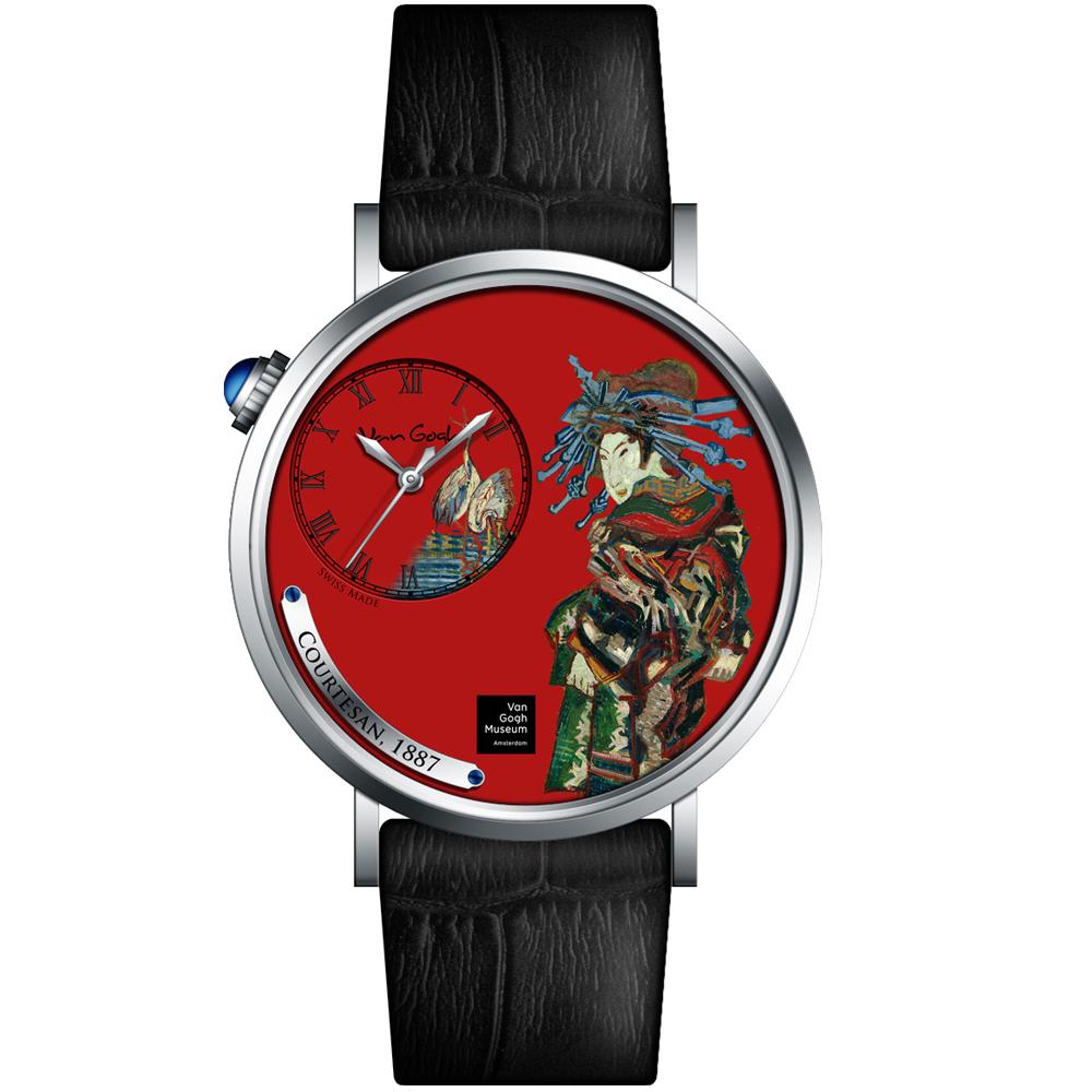 梵谷Van Gogh Swiss Watch梵谷演繹名畫男錶(S-SMC-08)