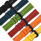 Watchband / 24mm / 各品牌通用 百搭 舒適 輕便 運動 矽膠錶帶