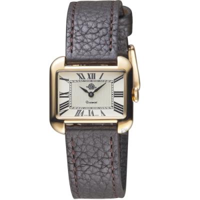 玫瑰錶Rosemont戀舊系列時尚手錶(RS58-01-Dbr)