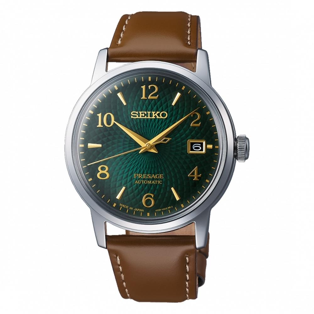 SEIKO PRESAGE 調酒師系列機械腕錶4R35-04A0G(SRPE45J1)