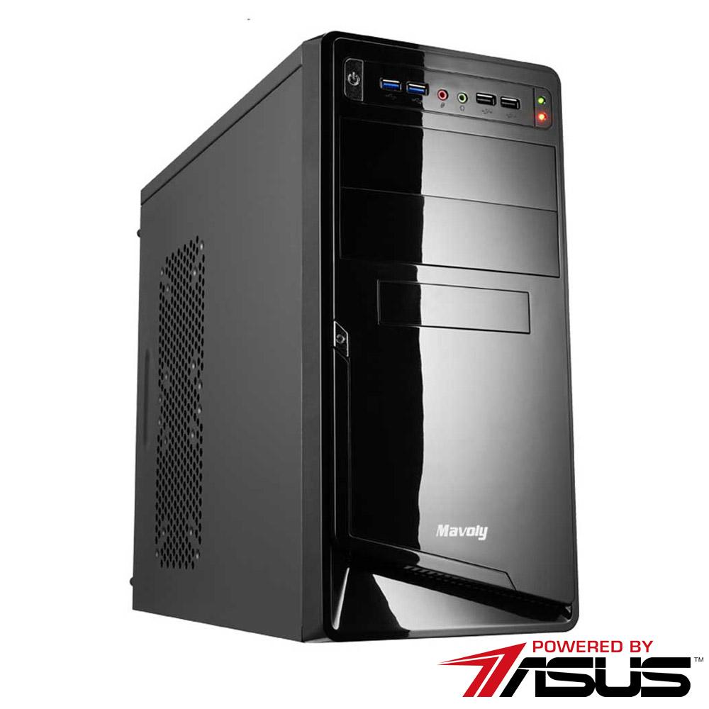 華碩B365平台 [妖火戰士]i5六核GT710獨顯SSD電玩機