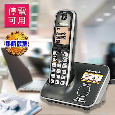 Panasonic 國際牌 2.4GHz高頻數位大字體無線電話 KX-TG3711