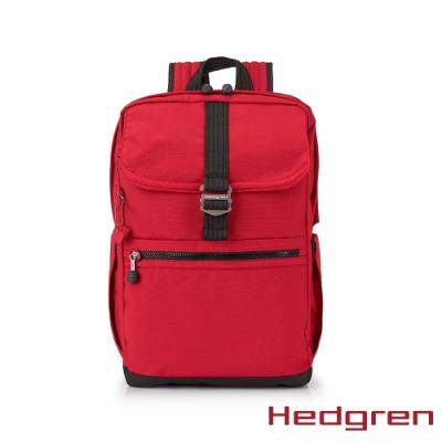 【Hedgren】GREAT綠色循環 RFID後背包-玫瑰紅