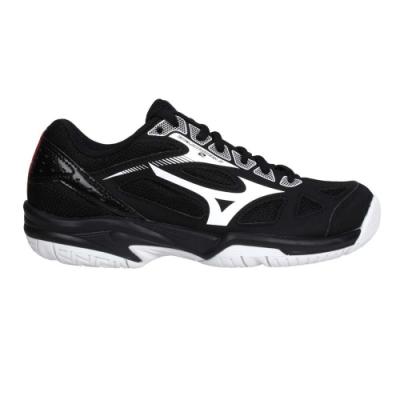 MIZUNO CYCLONE SPEED 2 JR. 男女兒童排球鞋-美津濃 訓練 V1GD191045 黑白紅藍
