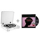 鐵三角AT-LP60白色 黑膠唱盤 + 給黛比的華爾滋/比爾.艾文斯 LP黑膠唱片 優惠組