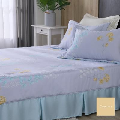 Cozy inn 花意 雙人 100%萊賽爾天絲枕套床包組