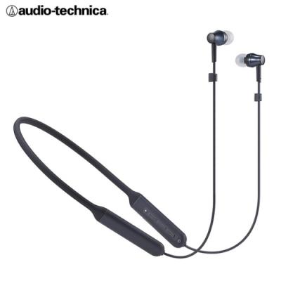 鐵三角 ATH-CKR500BT 掛頸式藍牙無線入耳式耳機 密閉型設計