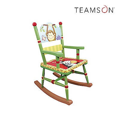 Teamson 童趣手繪木製兒童搖搖椅 (8款)