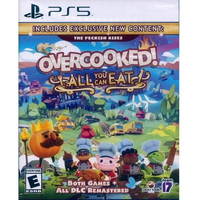 胡鬧廚房!全都好吃 (煮過頭大合輯) Overcooked All You Can Eat - PS5 中英日文美版