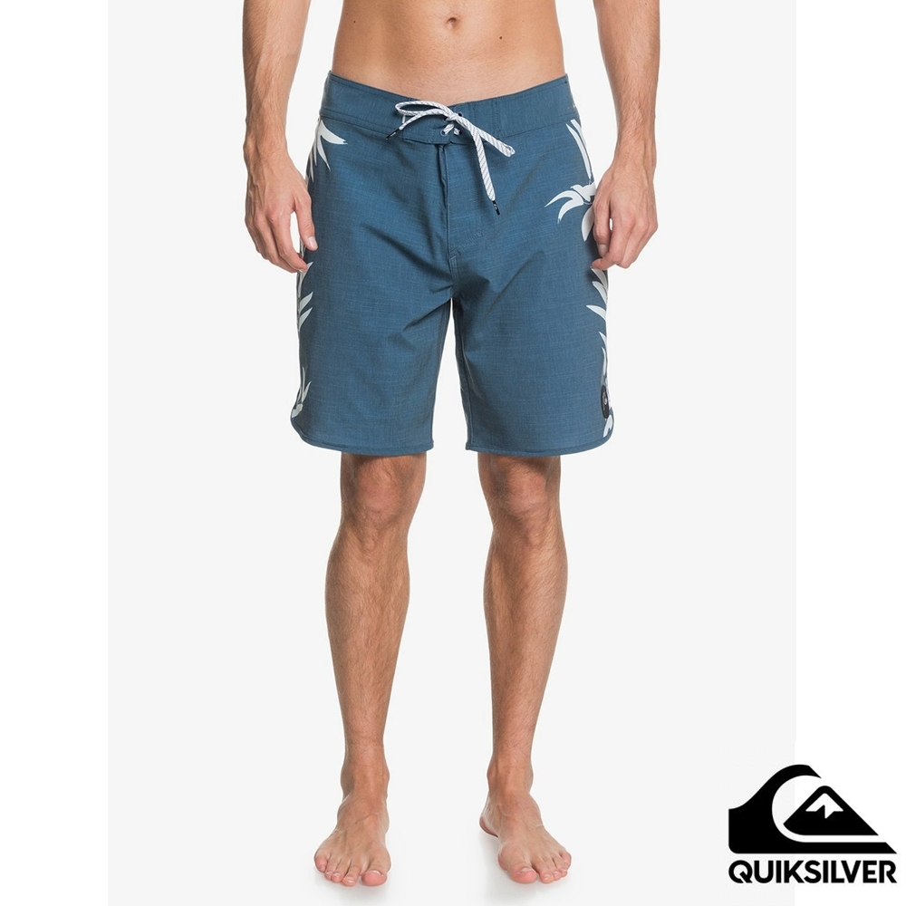 【QUIKSILVER】HIGHLINE PALM OUT 19 衝浪褲 藍色