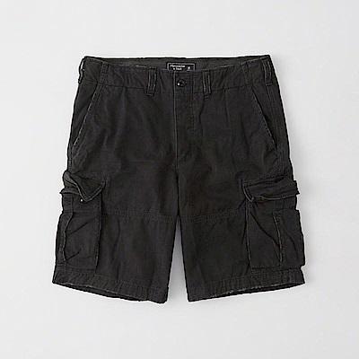 AF a&f Abercrombie & Fitch 短褲 黑色 0227