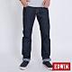 EDWIN EDGE 加大碼 復刻五袋紅線直筒牛仔長褲-男-原藍色 product thumbnail 1