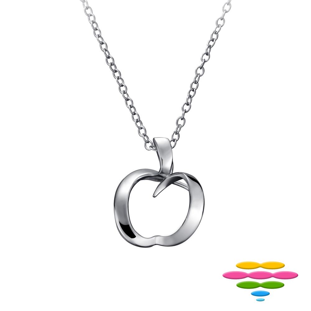 彩糖鑽工坊 愛心 925純銀項鍊 心有獨鐘 Fragille系列