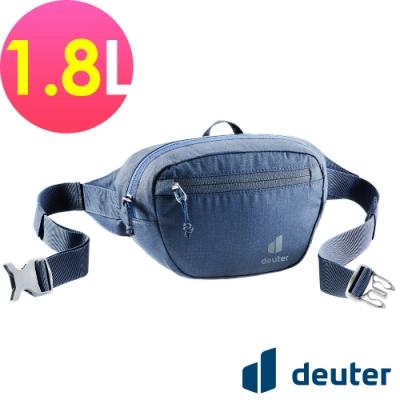 【deuter 德國】Organizer Belt 1.8L休閒輕量腰包3900421深藍/胸包/側背包/路跑/慢跑