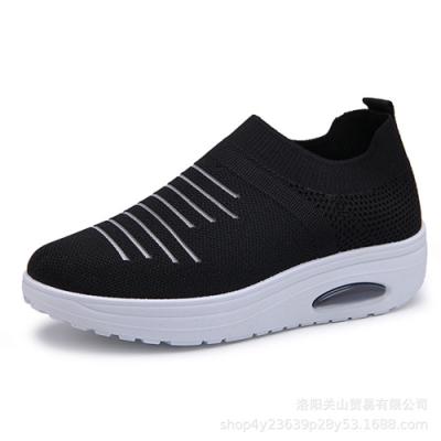 韓國KW美鞋館-悠活城市透氣休閒鞋-黑色