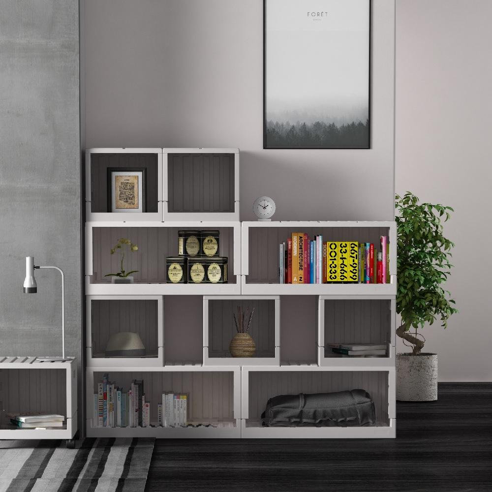 【樹德 livinbox】『台灣製』CARGO貨櫃收納椅 FB-6432